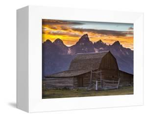 Moulton Barn Sunset by Mike Cavaroc