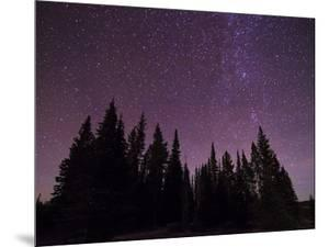 Night Sky over Bighorn Mountains by Mike Cavaroc
