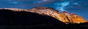 Sleeping Indian, Aka Sheep Mt, Above Evergreen Forest Above Jackson Hole. Bridger-Teton NF, WY by Mike Cavaroc