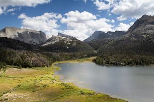 The Wind River Mountains Surrounding Big Sandy Lake, Bridger Wilderness, Wyoming by Mike Cavaroc
