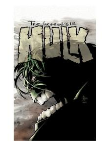 Incredible Hulk No.65 Cover: Hulk by Mike Deodato