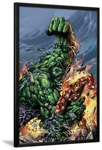 Incredible Hulk No.74 Cover: Hulk and Iron Man by Mike Deodato