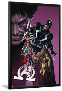 New Avengers #8 Cover: Medusa, Black Bolt, Lockjaw, Gorgon, Triton, Crystal, Karnak, Maximus by Mike Deodato