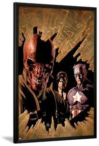 New Avengers No.12 Cover: Red Skull, Captain America, and Nick Fury by Mike Deodato
