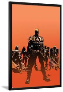 Secret Avengers No.12.1 Cover: Steve Rogers, Moon Knight, Black Widow, War Machine, and Valkyrie by Mike Deodato
