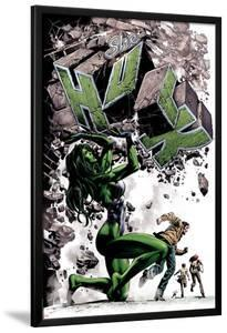 She-Hulk No.24 Cover: She-Hulk by Mike Deodato