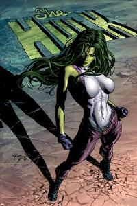 She-Hulk No.29 Cover: She-Hulk by Mike Deodato