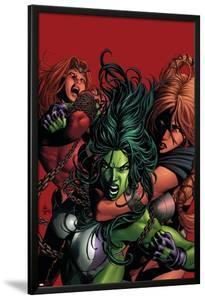 She-Hulk No.36 Cover: She-Hulk by Mike Deodato