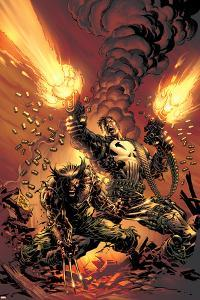 Wolverine Punisher No.1 Cover: Wolverine and Punisher by Mike Deodato