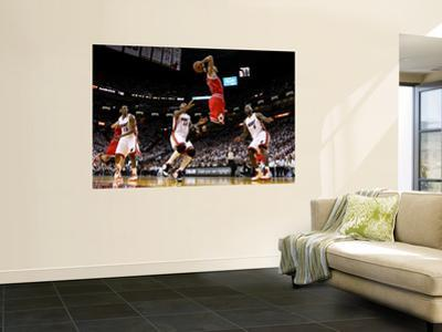 BESTPIX  Chicago Bulls v Miami Heat - Game FourMiami, FL - MAY 24: Derrick Rose, LeBron James, Mari