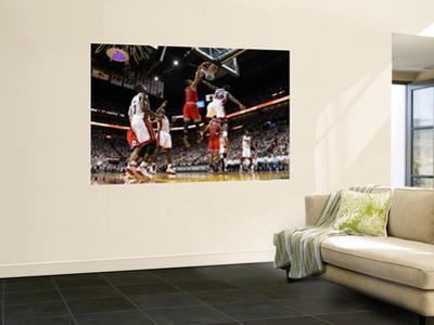 Chicago Bulls v Miami Heat - Game FourMiami, FL - MAY 24: Derrick Rose, Joel Anthony and LeBron Jam