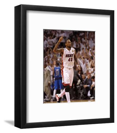 Dallas Mavericks v Miami Heat - Game Two, Miami, FL - JUNE 02: Udonis Haslem