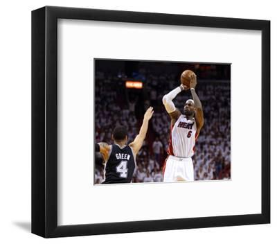 Miami, FL - June 20: LeBron James and Danny Green
