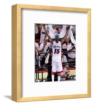 Miami, FL - June 21:  Miami Heat and Oklahoma City Thunder Game Five, Mario Chalmers