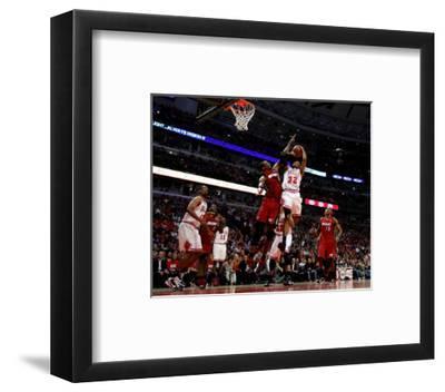 Miami Heat v Chicago Bulls - Game Five, Chicago, IL - MAY 26: C.J. Watson and Chris Bosh