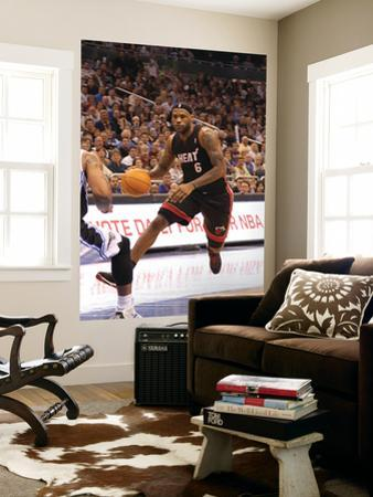 Miami Heat v Orlando Magic: LeBron James