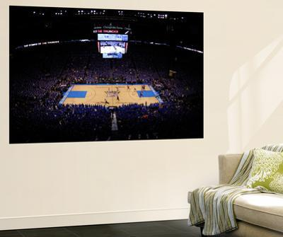 Oklahoma City, OK - June 12: A general view in the first quarter as the Oklahoma City Thunder take