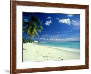 Beach Scene, Barbados by Mike England