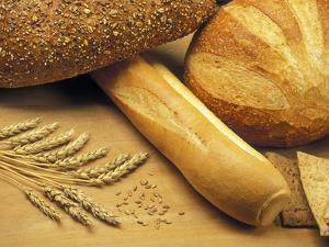 Bread and Wheat, Winnipeg, Manitoba, Canada by Mike Grandmaison