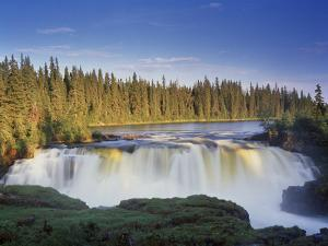 Canada, Manitoba, Pisew Falls by Mike Grandmaison