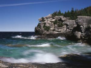 Canada, Ontario, Lake Huron in Bruce Peninsula National Park by Mike Grandmaison