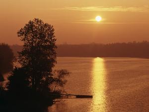 Canada, Ontario, London, Fanshawe Lake at Sunrise by Mike Grandmaison