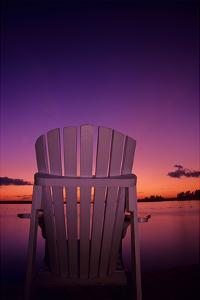 Chair at Dusk by Mike Grandmaison