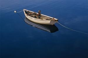 Fishing Boat by Mike Grandmaison