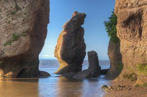Hopewell Rocks by Mike Grandmaison