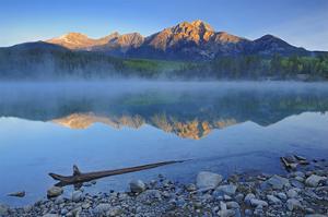 Morning at Patricia Lake by Mike Grandmaison