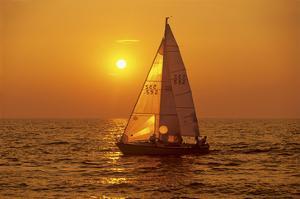 Sailing on Lake Ontario by Mike Grandmaison