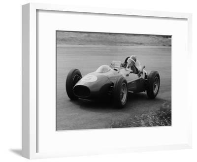 Mike Hawthorn in the Dutch Grand Prix, Zandvoort, 1958