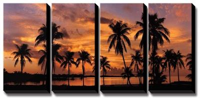 Tropical Sunsets I by Mike Jones