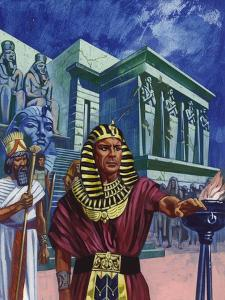 Pharaoh Telling Moses to Take the People of Israel Out of Egypt by Mike Lea