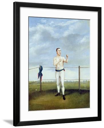 Mike Madden-A. Clark-Framed Giclee Print