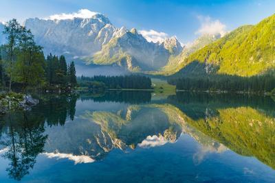 Mountain Lake,Laghi Di Fusine,Italian Alps