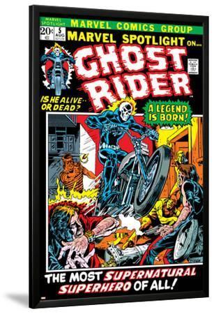 Marvel Spotlight Ghost Rider No.5 Cover: Ghost Rider