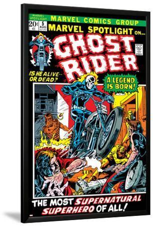 Marvel Spotlight No.5 Cover: Ghost Rider