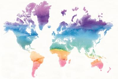 Watercolor World by Mike Schick