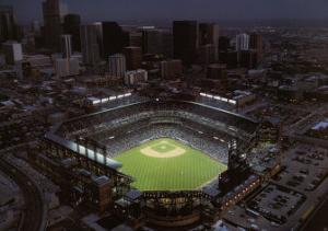 Coors Field - Denver, Colorado by Mike Smith