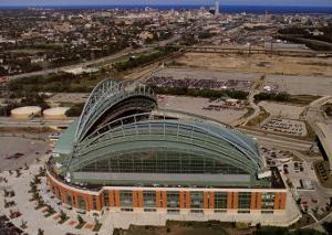 Milwaukee Brewers - Miller Park by Mike Smith
