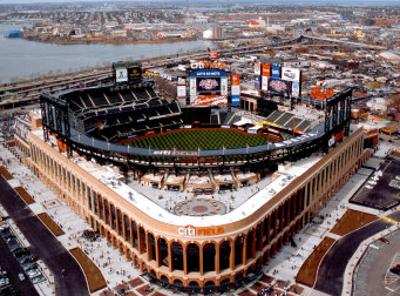 New Citi Field, First Opening Day, April 13, 2009