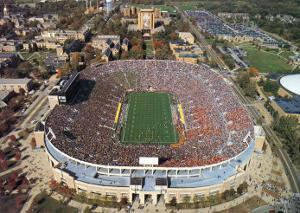 Notre Dame Stadium by Mike Smith