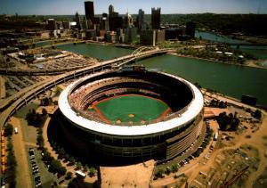 Pittsburgh - Three Rivers Stadium Final Season by Mike Smith