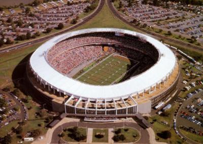 RFK Stadium - Washington Redskins World Champions 1991
