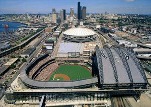 Safeco Field - Seattle, Washington by Mike Smith