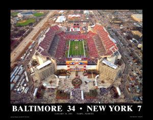 Super Bowl XXXV - Tampa Bay, Florida by Mike Smith