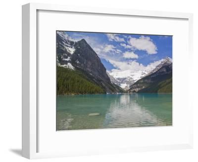 Clear, Clean Water and Majestic Mountain Scenery at Lake Louise