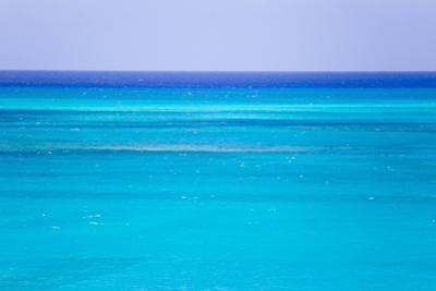 The Turquoise Waters of Grace Bay, and the Atlantic Ocean Beyond by Mike Theiss
