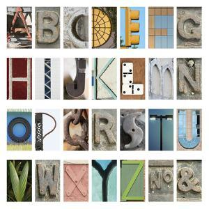 Urban Alphabet by Mike Toy